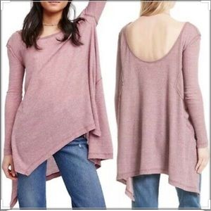 Free people relaxed thermal long sleeve top